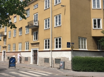 3. Fasad lagning - Moberg Maleri och Fasadputs AB