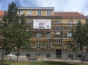 1. fasad renovering - Moberg Maleri och Fasadputs AB